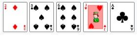 high card - augstākā kārts